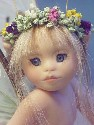 closeup of teacup fairy doll